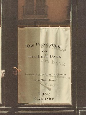 cover image of The Piano Shop on the Left Bank