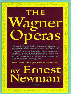 cover image of Wagner Operas