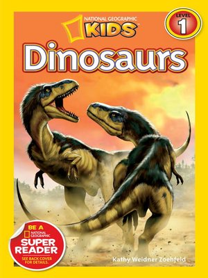 cover image of National Geographic Readers: Dinosaurs