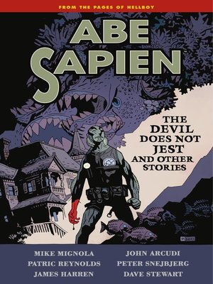 cover image of Abe Sapien (2008), Volume 2