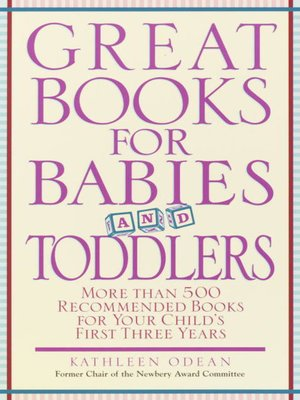 cover image of Great Books for Babies and Toddlers
