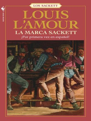 cover image of La marca Sackett