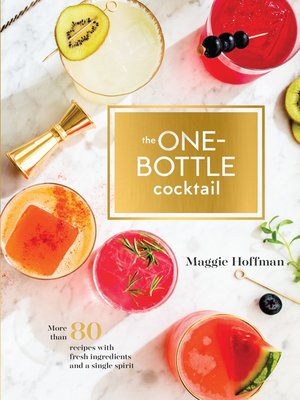 cover image of The One-Bottle Cocktail