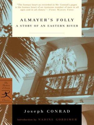 cover image of Almayer's Folly