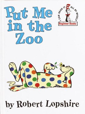 cover image of Put Me in the Zoo