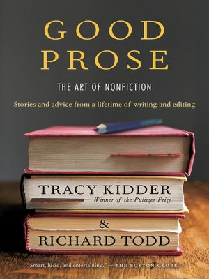cover image of Good Prose