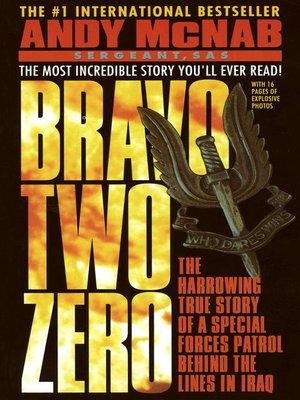 cover image of Bravo Two Zero