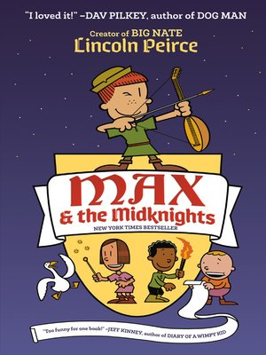 cover image of Max and the Midknights