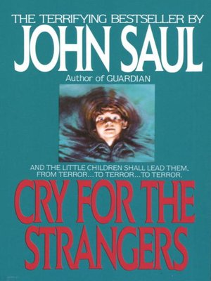 cover image of Cry for the Strangers