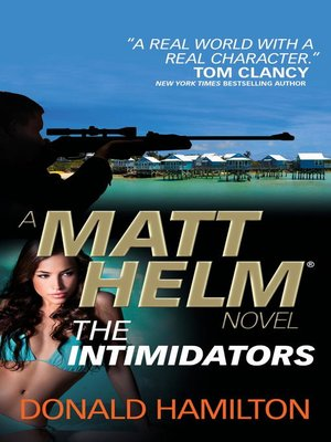 cover image of Matt Helm--The Intimidators