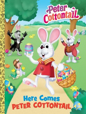 cover image of Here Comes Peter Cottontail Big Golden Book