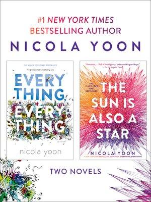 cover image of Nicola Yoon 2-Book Bundle