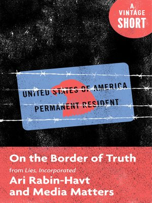 cover image of On the Border of Truth