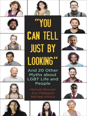 "cover image of ""You Can Tell Just by Looking"""