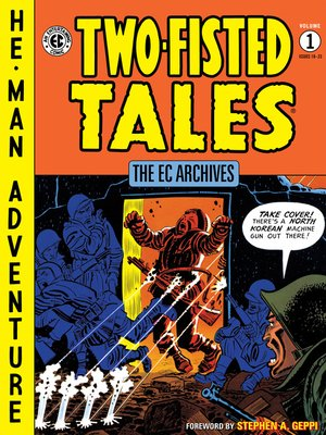 cover image of Two-Fisted Tales (1950), Volume 1