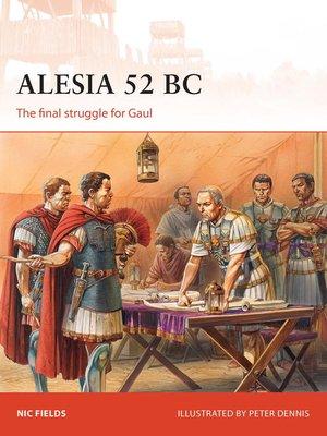 cover image of Alesia 52 BC
