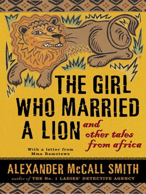 cover image of The Girl Who Married a Lion