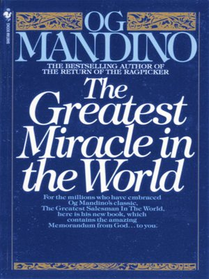 cover image of The Greatest Miracle in the World