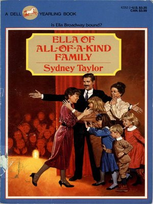 4 All-of-a-Kind Family Taylor HC DJ More Downtown Uptown Childrens Series NY