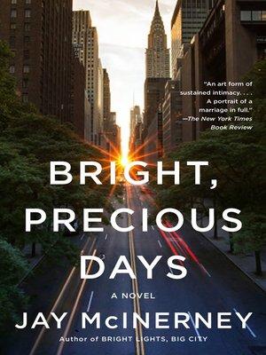 cover image of Bright, Precious Days