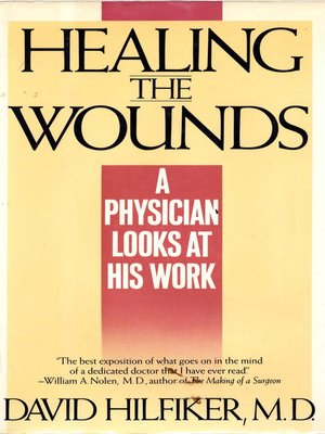 cover image of HEALING THE WOUNDS