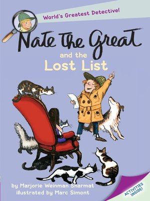 cover image of Nate the Great and the Lost List