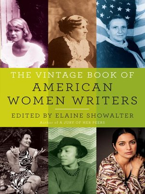 cover image of The Vintage Book of American Women Writers