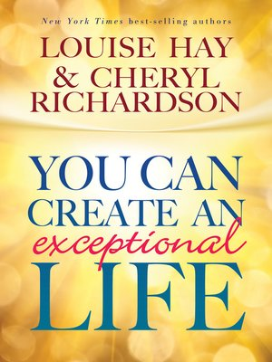 cover image of You Can Create an Exceptional Life
