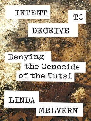 cover image of Intent to Deceive