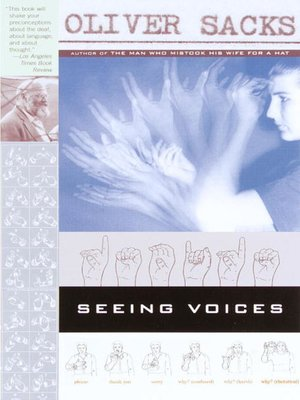 cover image of Seeing Voices