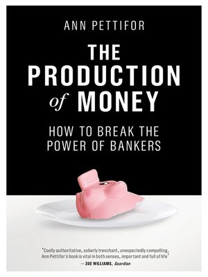 cover image of The Production of Money