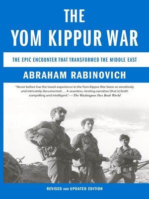 cover image of The Yom Kippur War