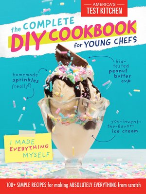 cover image of The Complete DIY Cookbook for Young Chefs