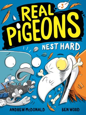 cover image of Real Pigeons Nest Hard (Book 3)