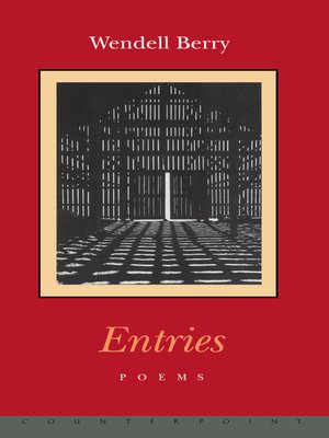 cover image of Entries