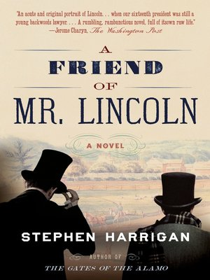cover image of A Friend of Mr. Lincoln