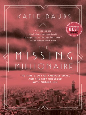 cover image of The Missing Millionaire
