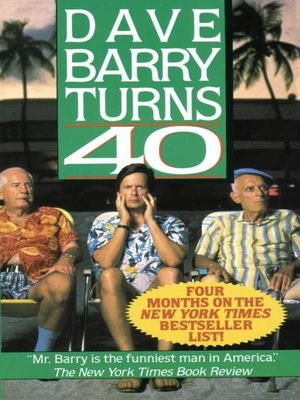 cover image of Dave Barry Turns Forty