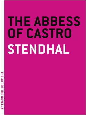 cover image of The Abbess of Castro