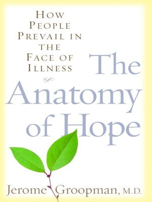 cover image of The Anatomy of Hope