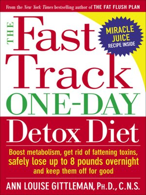 cover image of The Fast Track One-Day Detox Diet