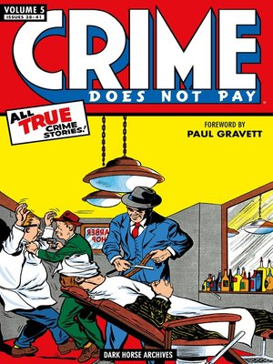 cover image of Crime Does Not Pay Archives, Volume 5