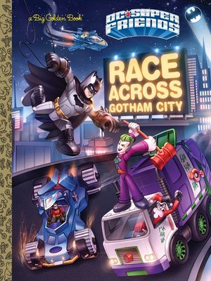 cover image of Race Across Gotham