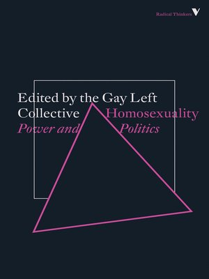 cover image of Homosexuality
