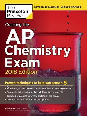 cover image of Cracking the AP Chemistry Exam, 2018 Edition