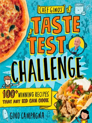 cover image of Chef Gino's Taste Test Challenge