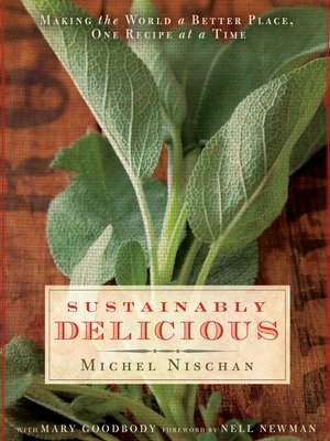 cover image of Sustainably Delicious