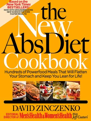 cover image of The New Abs Diet Cookbook