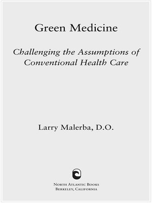 cover image of Green Medicine