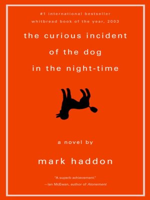 cover image of The Curious Incident of the Dog in the Night-Time